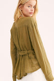 We the Free Safari Wrap Blouse