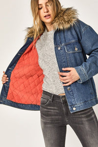 Mavi Mara Quilted Jacket