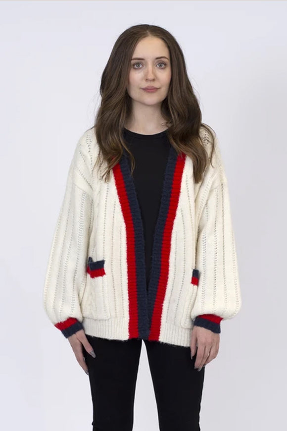 Lyla & Luxe Hibiscus Gucci Cardigan