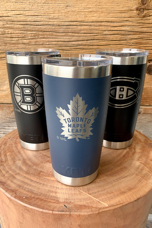 Yeti Officially Licensed NHL Drinkware 20oz Yeti Rambler 20oz Tumbler with Lid