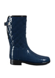 Women's Original Short Refined Quilted Gloss Rain Boots