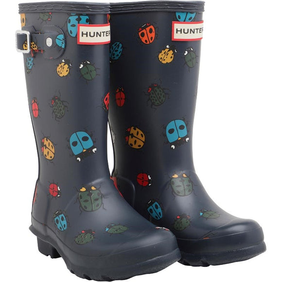 Hunter Original Kids Ladybird Rain Boot