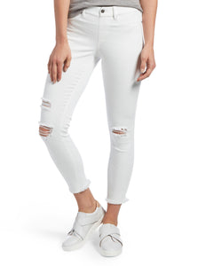 HUE Ripped Knee Denim Skimmer | BK's Brand Name