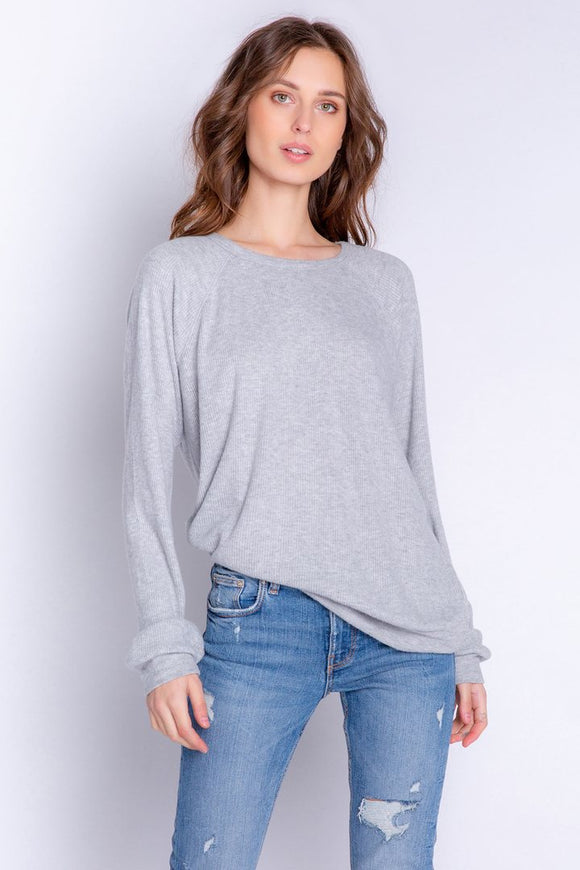 PJ Salvage Textured Top