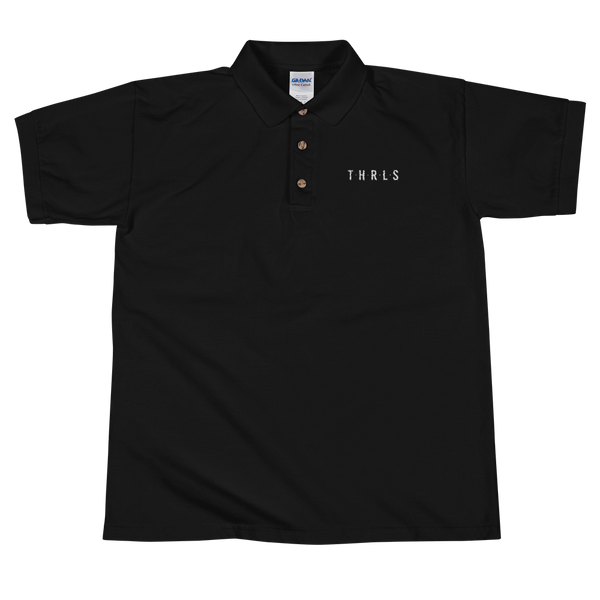 THRLS Founders Mens Polo Black
