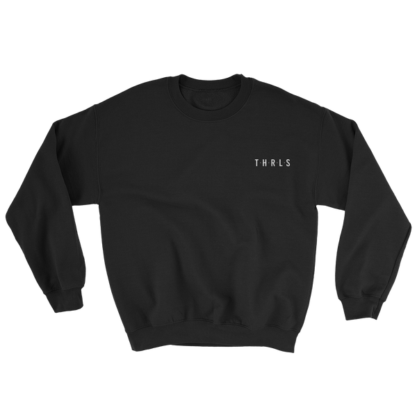 THRLS Founders Sweat Black