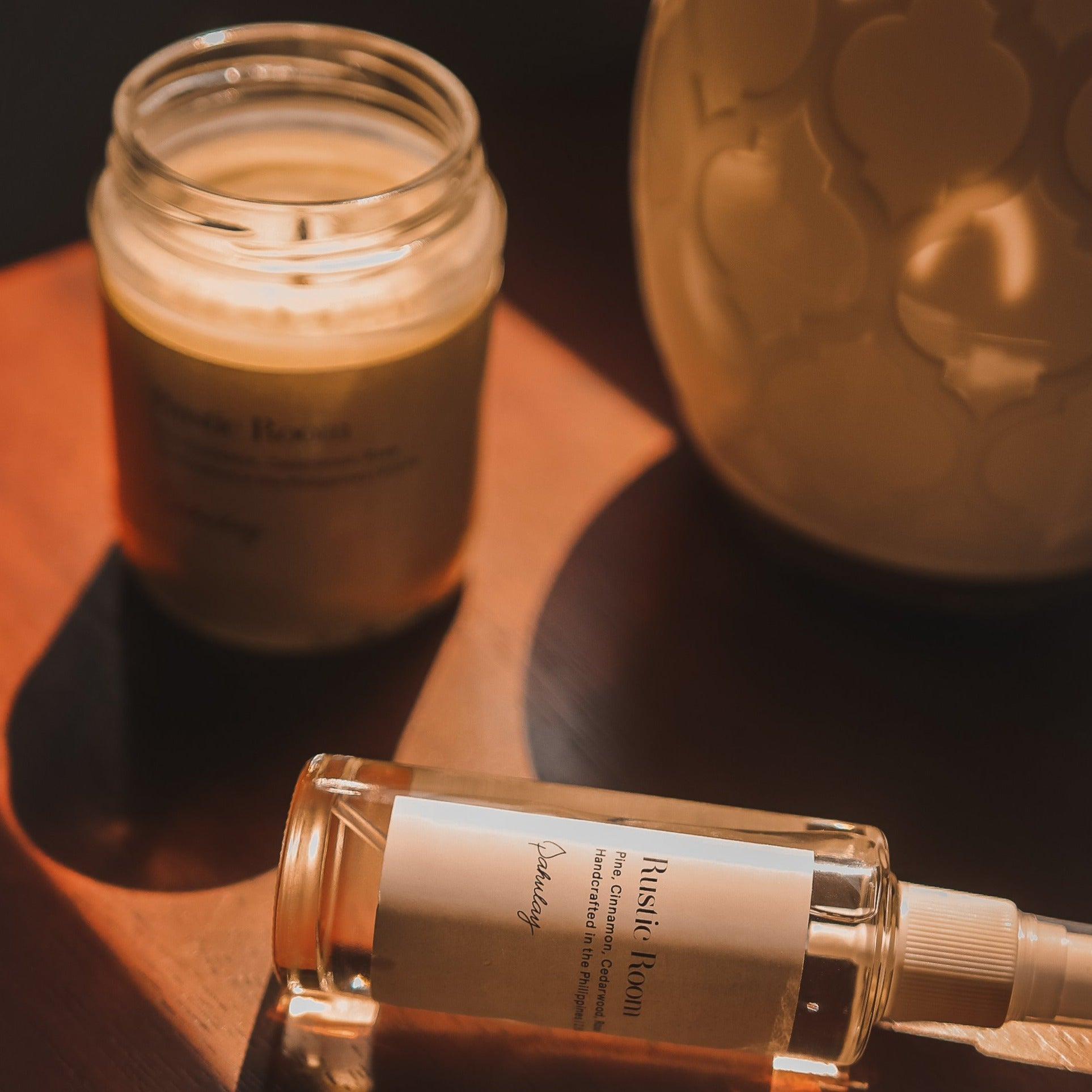 Home Set: 8.5 oz Candle + Home Spray