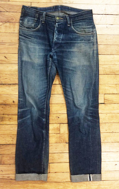 Old School  2010 - Cone White Oak SunFlower Greaser Jeans - RARE