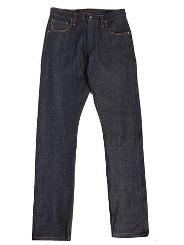 Atlas  Vertical Grain 15 oz Indigo XinJiang - Left Field NYC