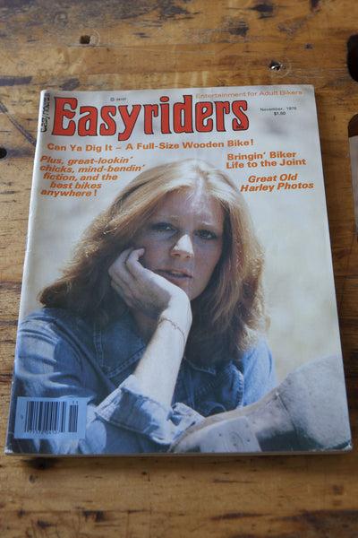 Vintage 1978 Easyriders Magazine - Left Field NYC