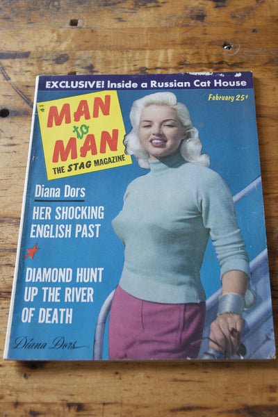 Vintage Man to Man Magazine - Left Field NYC