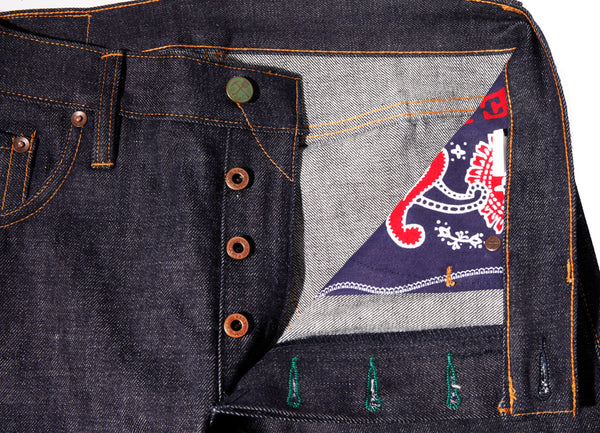 Greaser - 50's(Collect Mills Japan's reproduction of Levis denim) Denim - Left Field NYC