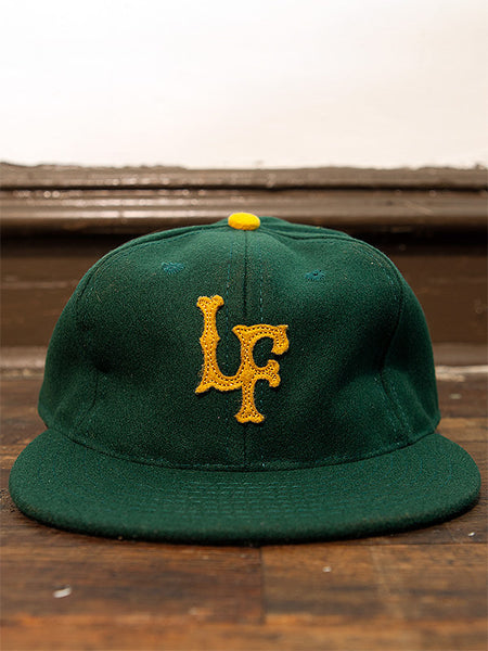 Forest / Old Gold Fitted Ballcap - Left Field NYC