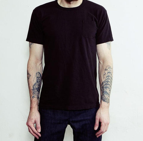 Left Field Tube Tee 2 Pack (Black Pocket) - Left Field NYC