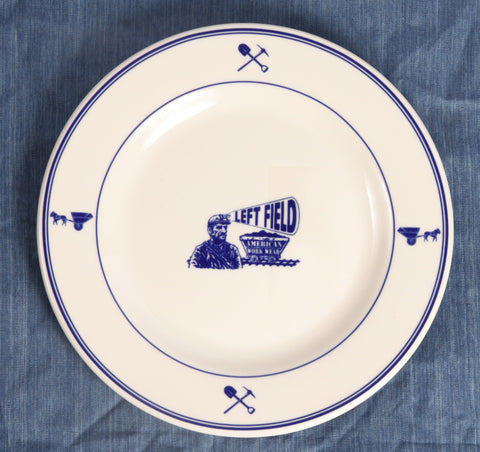 Left Field Plates - (Set of 4) - Left Field NYC