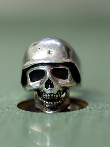 Silver Skull Ring - Left Field NYC