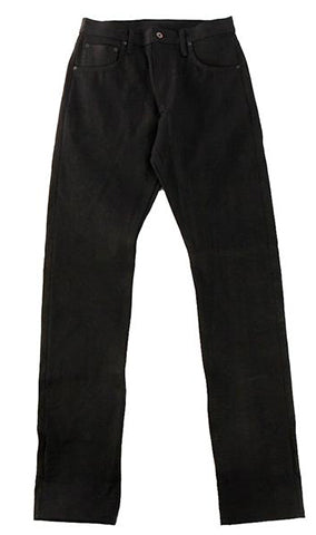 Chelsea 16 oz Black Maria Extra long staple cotton denim - Left Field NYC