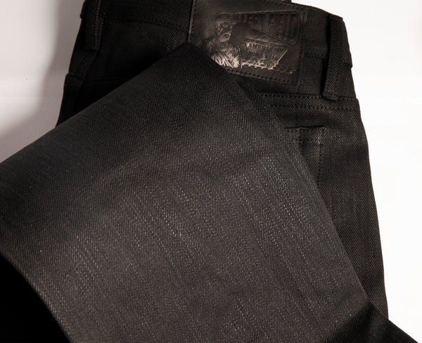 Greaser 16 oz XinJiang(Extra long staple cotton) Black Maria jean - Left Field NYC