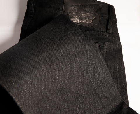 Greaser 16 oz Black Maria Extra long staple cotton selvedge denim - Left Field NYC