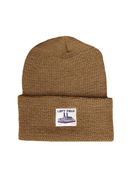 Brown Wool Watch Cap - Left Field NYC