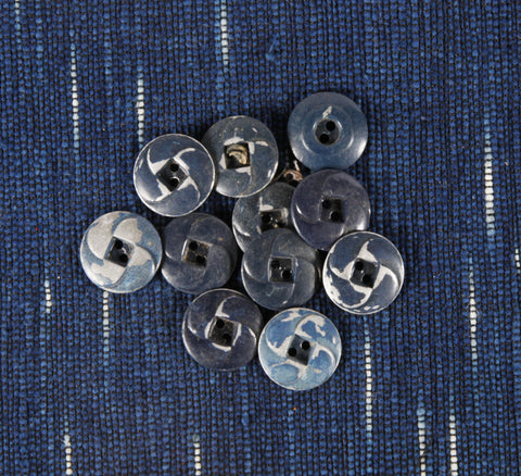 swirl metal workwear button 24 ligne