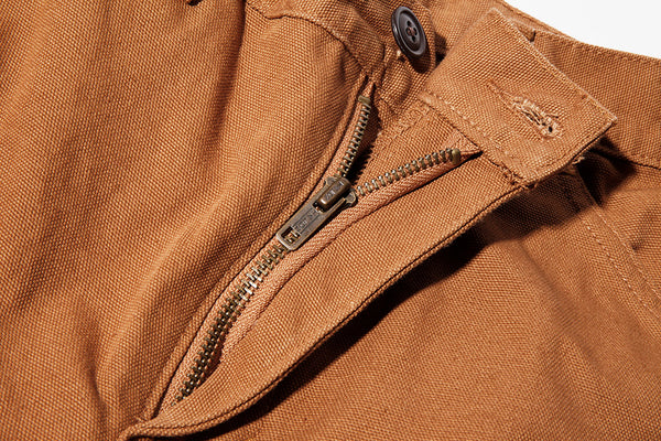 Caramel Duck Work Uniform Chino ** Size down one in the Waist ** - Left Field NYC