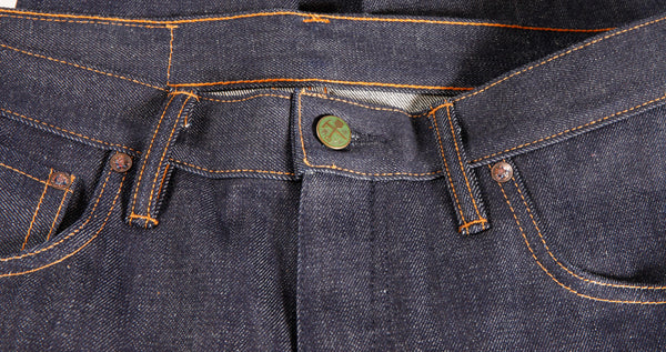 Atlas Cone Mills 13 oz Selvedge Jean - Left Field NYC
