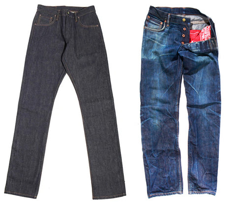 Pre Order: Last Run! Atlas 1968 Cone White Oak 13 oz Selvedge Denim - Left Field NYC