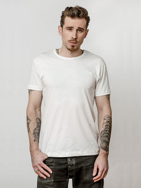 White Crew Neck Undershirt (2 Pack)