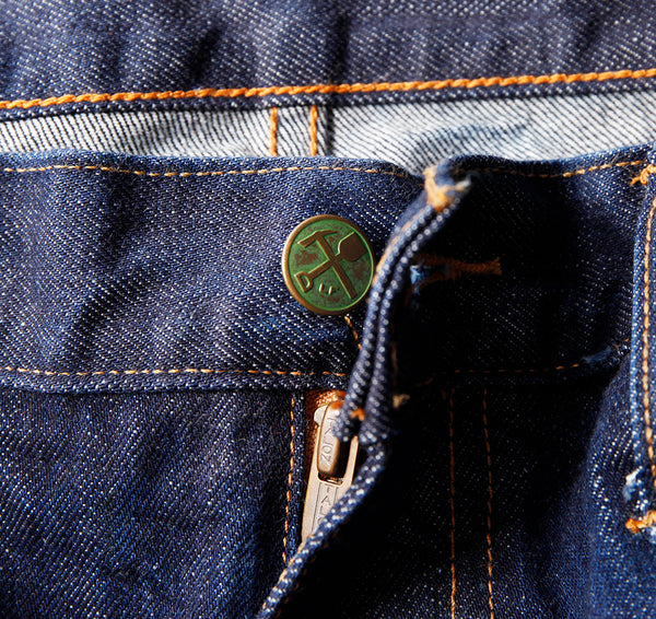 Atlas 13 oz Cone White Oak Non Selvedge  Washed Denim (Dad's Style) - Raw Denim - Left Field NYC