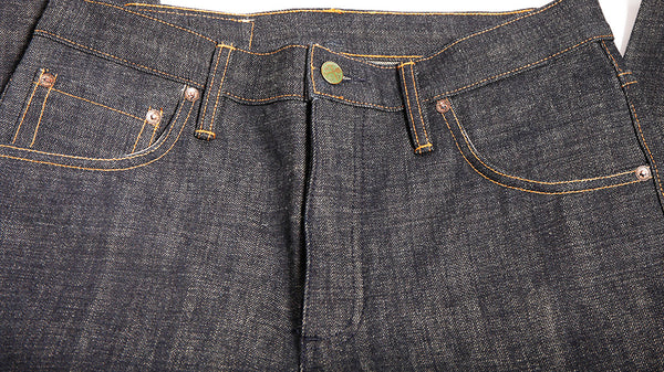 Franklin and Poe  Collaboration  - 15.5 oz Nihon Menpu denim - Left Field NYC