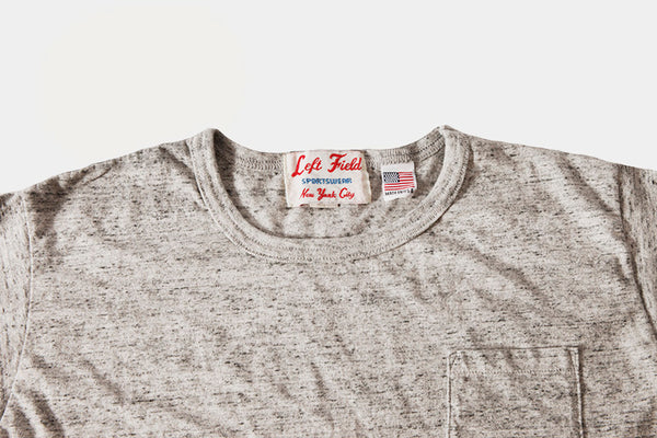 50's Gym Tee (Pre Washed) running slimmer then tubes - Left Field NYC