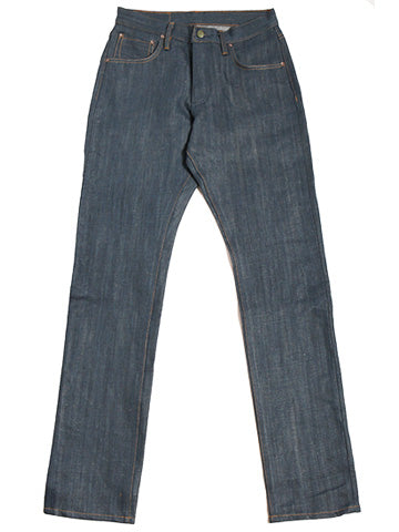 Chelsea Nihon Menpu Natural Hank dyed Indigo denim,  15.5 oz 58% organic cotton/ 42% hemp - Left Field NYC