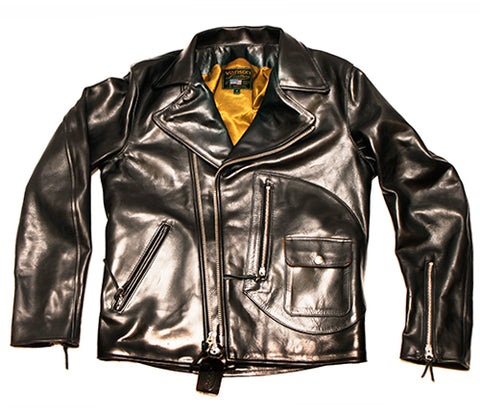Gold Standard - Left Field's 20th Anniversary Horween Commando Leather Jacket - Left Field NYC