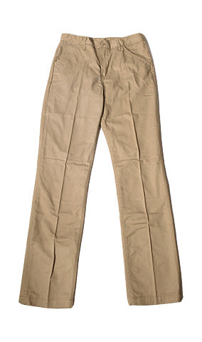 Work Uniform Khaki Twill Chino (running a little wider in the waist check spec) - Left Field NYC