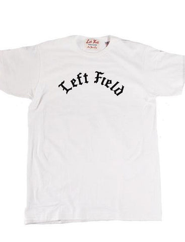 White Left Field Tee - Left Field NYC