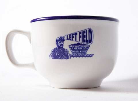 Left Field Mug 18 oz Jumbo Diner Mug