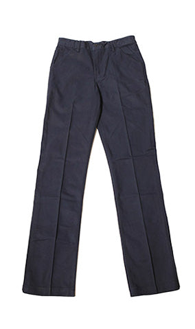 Work Uniform Navy Twill Chino (running a little wider in the waist check spec) - Left Field NYC