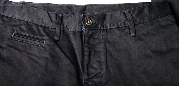 Coal Miner Navy 9 oz Red Selvedge Twill Chino - Left Field NYC