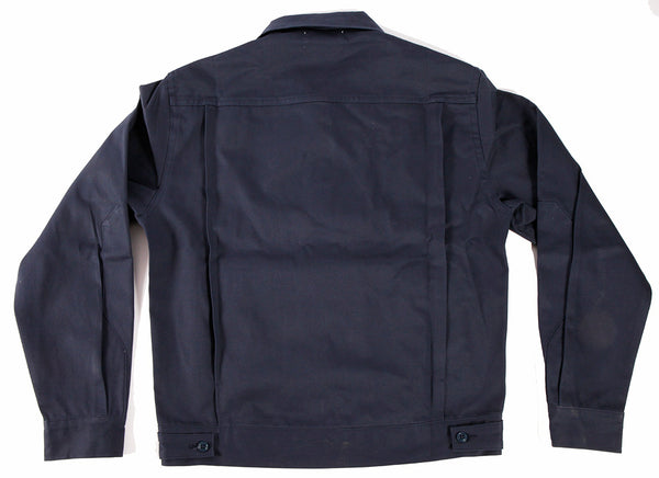 Greaser Garage Jacket - Navy 9 oz Twill - Left Field NYC