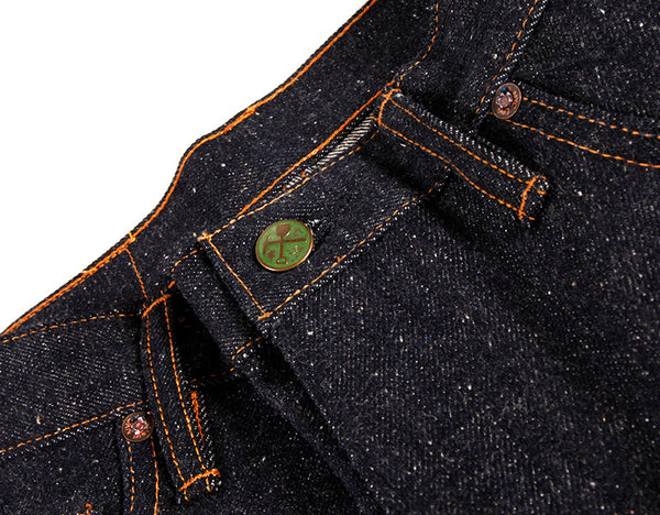 Atlas 16 oz Neppy, slubby extra long staple cotton denim - Left Field NYC
