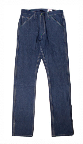 Work Uniform 15 oz Mt Vernon Prison Blues Denim - Left Field NYC