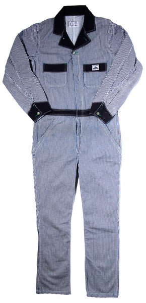 12 oz Mount Vernon Hickory Stripe Coveralls
