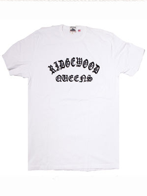 FLOCK RIDGEWOOD QUEENS WORK UNIFORM CREW TEE