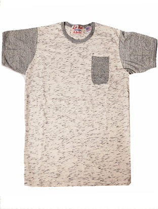 Snow Tiger King Crazy Ringer Pocket Tee - Left Field NYC