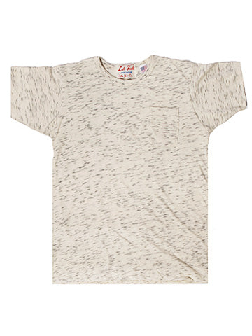 40's Style Oatmeal Heather Pocket Tee - Left Field NYC