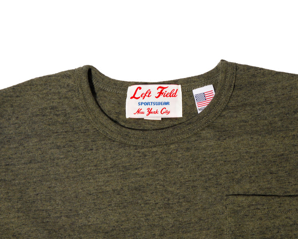 Vietnam Heather Pocket Tee - Left Field NYC