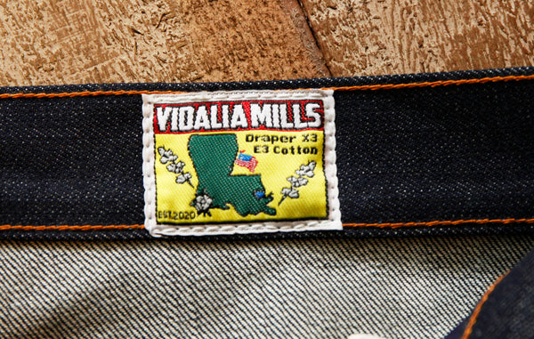 Pre Order Greaser Vidalia Mills 14 oz USA Denim Jean 2/28/21