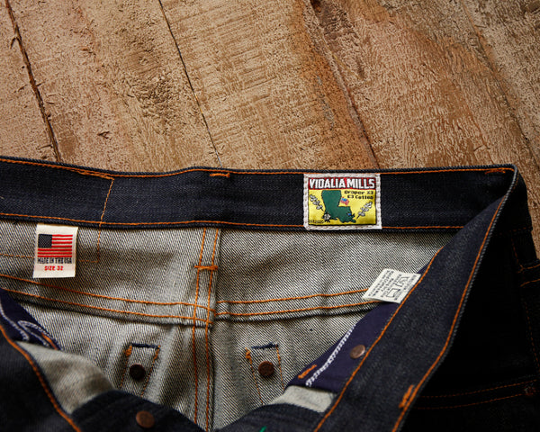 Seconds Atlas Vidalia Mills 14 oz USA Denim Jean