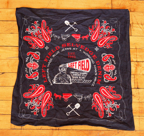 Left Field Rotary Printed Bandana